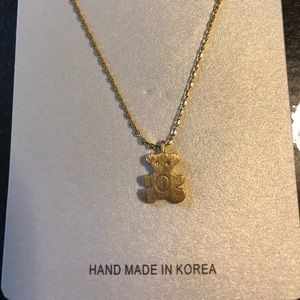 Jewelry - Designer inspired Bear Pendant Necklace